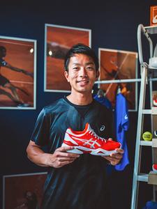 Tatsuya Ishikawa, responsable R&D tennis chez Asics