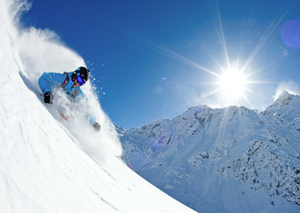 Salomon ski freeride