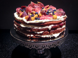 Berry, Fig, Lemon and Thyme Cake