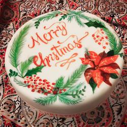 Custom Christmas Fruit Cake
