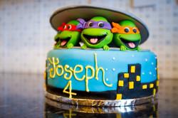 Ninja Turtles Custom Cake