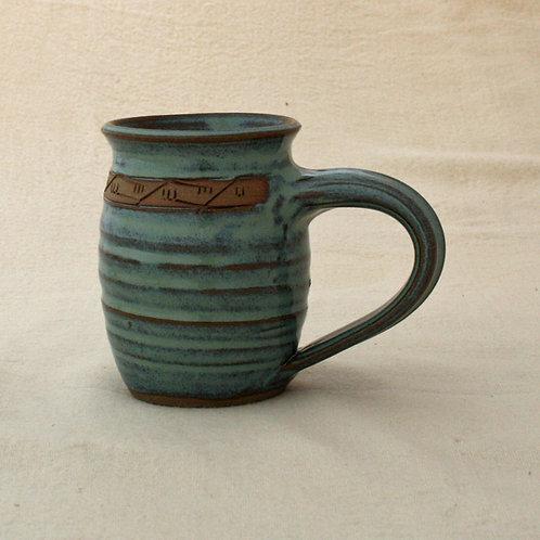 Green Medium Mug