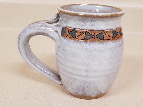Large Cream Mug