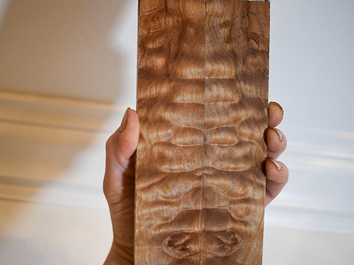 Quilted Maple Knife Scales