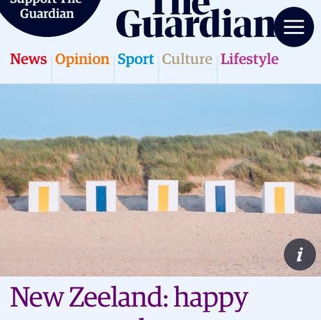 New Zeeland: happy returns to the Netherlands coast