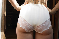 Amalia Panties in White