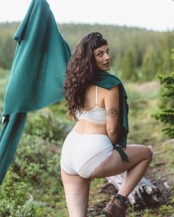 Amy Bra, Amalia Panties in White