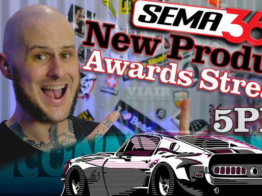 SEMA 2020 LIVE @ 5PM EST!