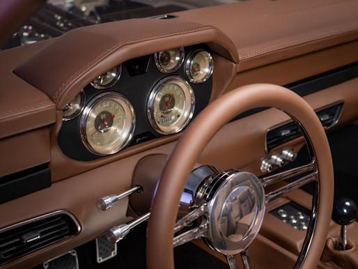 Freelance Video of a Beautiful Custom Car Interior!