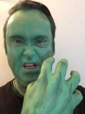 Hulk Make up