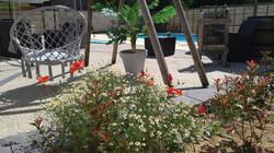 chambres d hotes au vendangeoir terrasse piscine détente