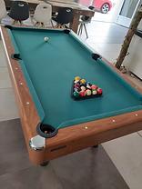 jeux table de billard au vendangeoir chambres d'hôtes couvignon