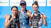 World triathlon series grand final podium