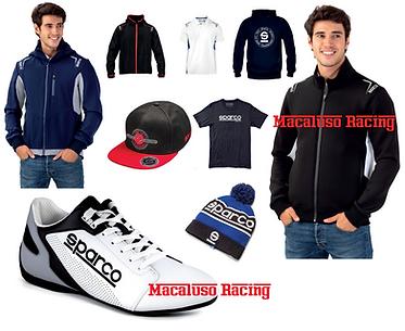 Abbigliamento Sparco, jeans, scarpe, cappelli, t-shirt, felpe, giacche, giubotti, gilet, tute.
