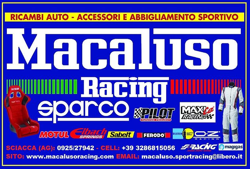 Macaluso Racing Sciacca, tutto per il mondo del motorsport come tute, cinture scarpe, sedili, guanti