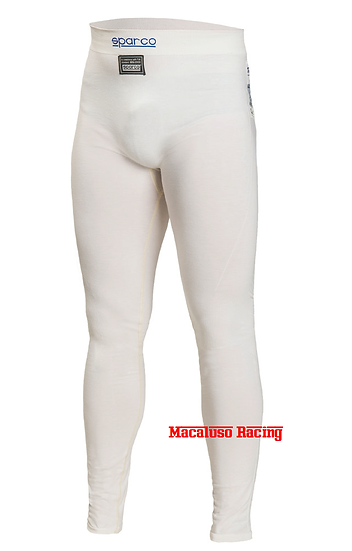 Pantaloni sottotuta Sparco bianchi Delta Rw-6