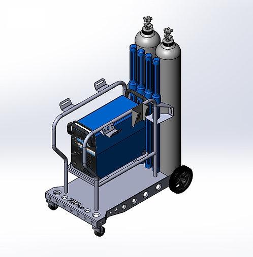 Miller Diversion 165/180 Welding Cart Kit