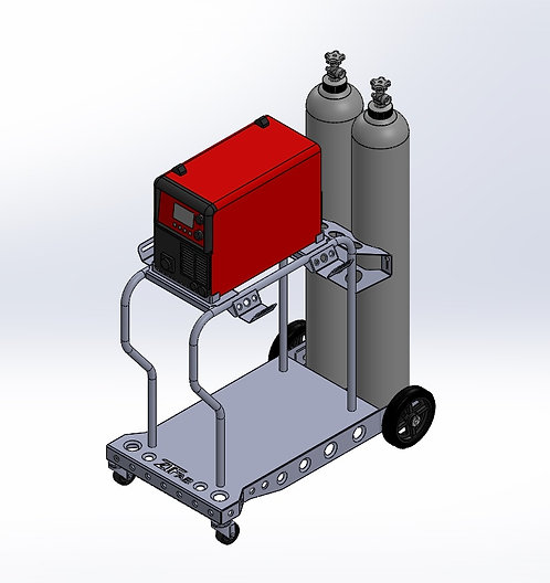 HTP Pro Pulse 200 Welding Cart