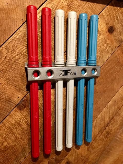 TIG Rod Storage Rack with Rod Guard® Tubes