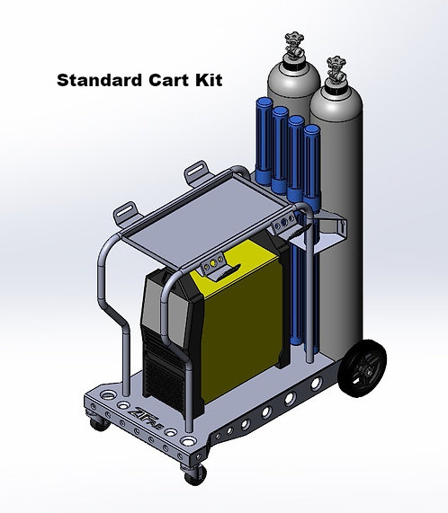 AHP AlphaTIG 200x/201XD Welding Cart