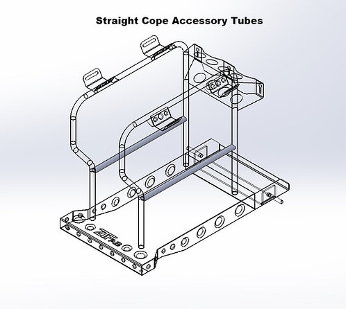 Accessory Tubes for Welding Carts