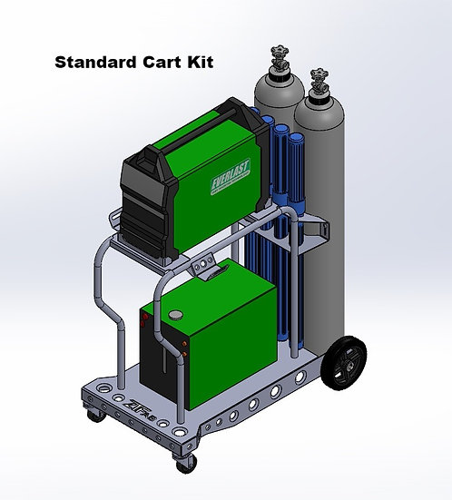 Everlast PowerTIG 200DV Welding Cart