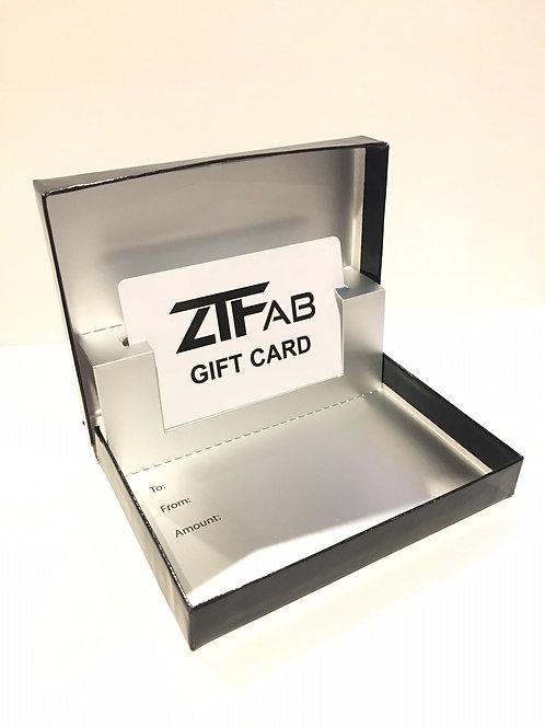ZTFab Gift Card
