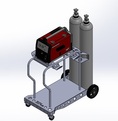 Lincoln 125/140/180 MIG Cart