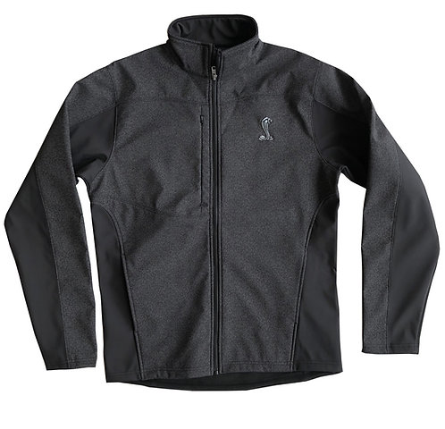 Shelby Reflective Softshell Black Jacket