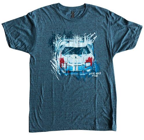 Shelby GT40 MK II Blue Tee