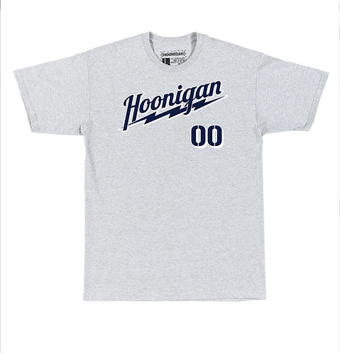 Hoonigan Power SS T-Shirt Grey
