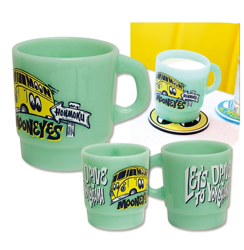 Mooneyes Milky Mug Green