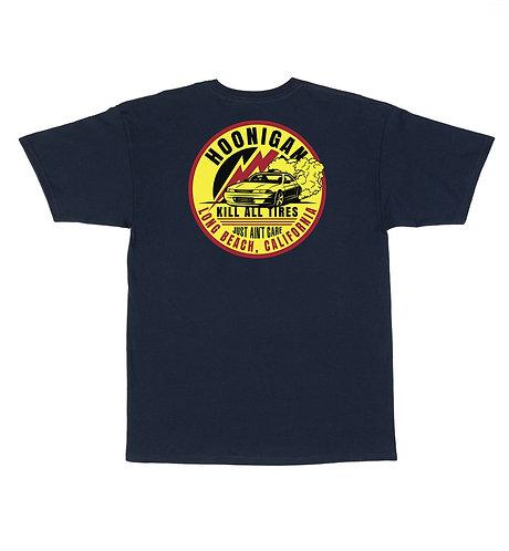 Hoonigan Stage SS T-Shirt Navy