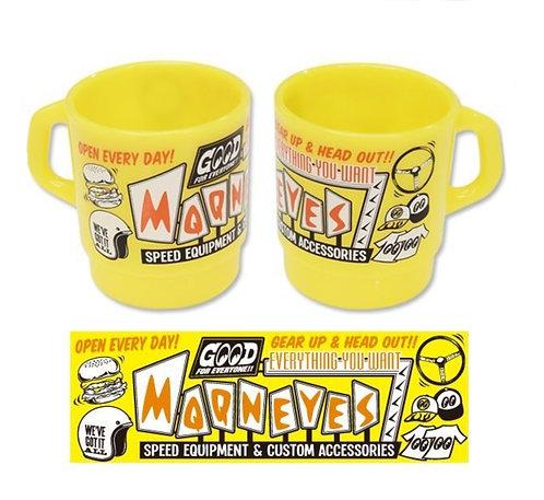 Mooneyes Milky Mug Yellow