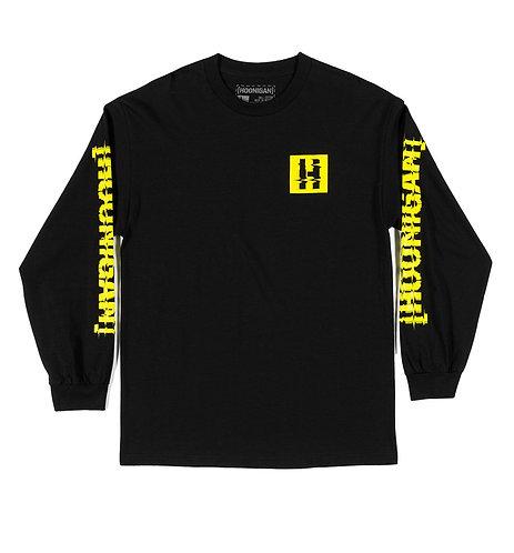 Hoonigan Glitch Bracket LS T-Shirt Black
