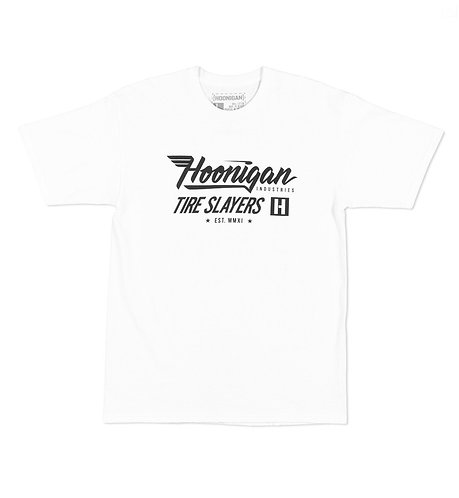 Hoonigan Factory Team SS T-Shirt White