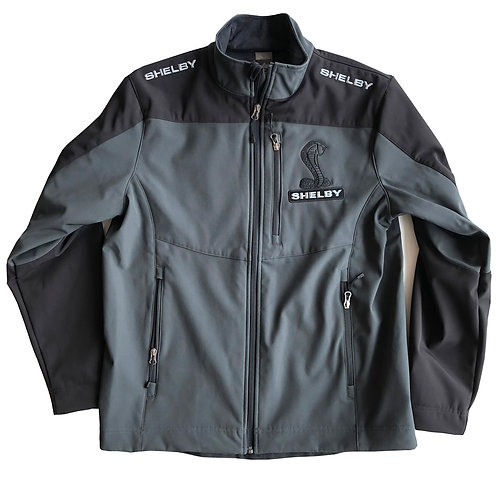 Shelby Tar Black Soft Shell Jacket
