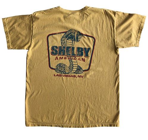 Shelby American LV Mustard Tee