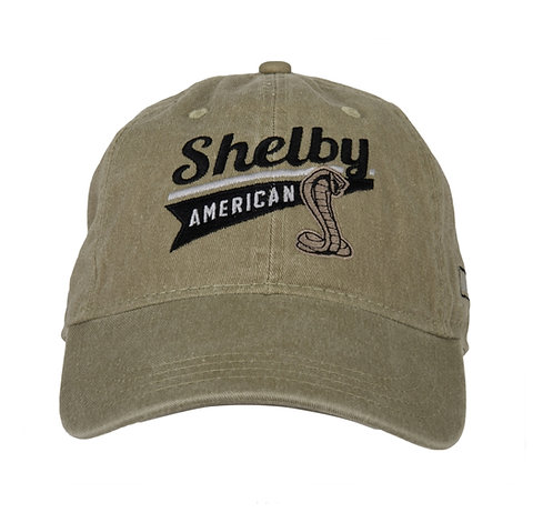 Shelby - Shelby American Khaki Hat