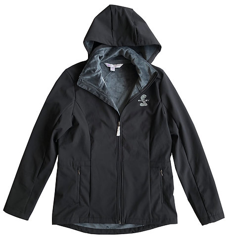 Shelby Ladies Softshell Black Jacket