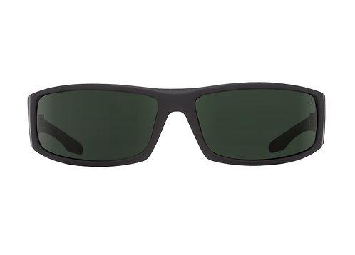 Spy Sunglasses Cooper Soft Matte Black Green Polar