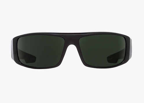 Spy Sunglasses Logan Black Green Polar