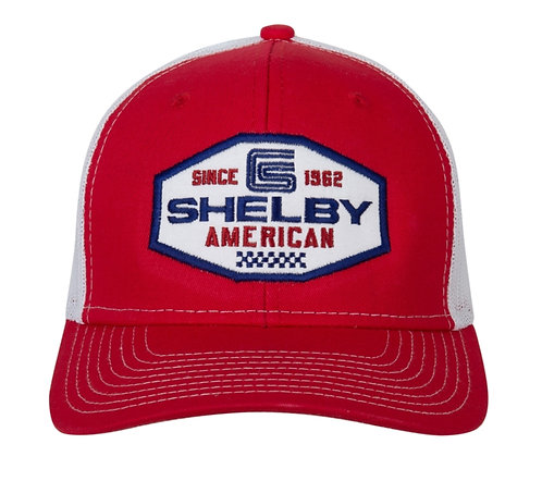 Shelby - Shelby American Red Trucker Hat
