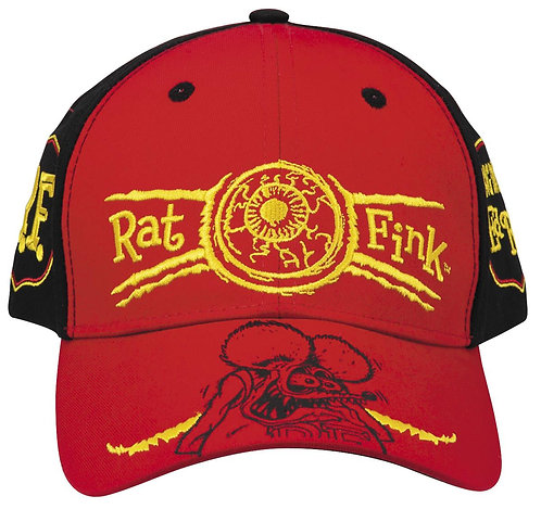 "Ed ""Big Daddy"" Roth - Rat Fink Embroidered Eyeball Hat"
