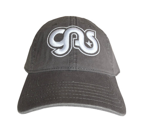 GAS Cotton Hat Grey And White Logo