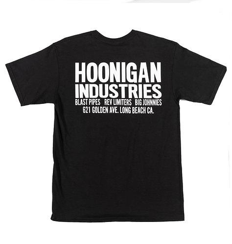 Hoonigan Shop SS T-Shirt Black