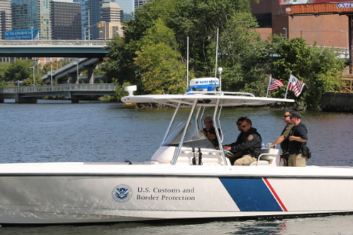 30 Intrepid Coastal Enforcement Vessel