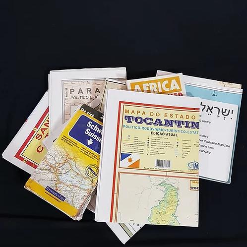 Mapas Rodoviários do Brasil e outros países
