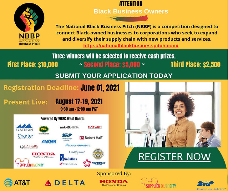 Black Business Pitch half page Ad1024_1.