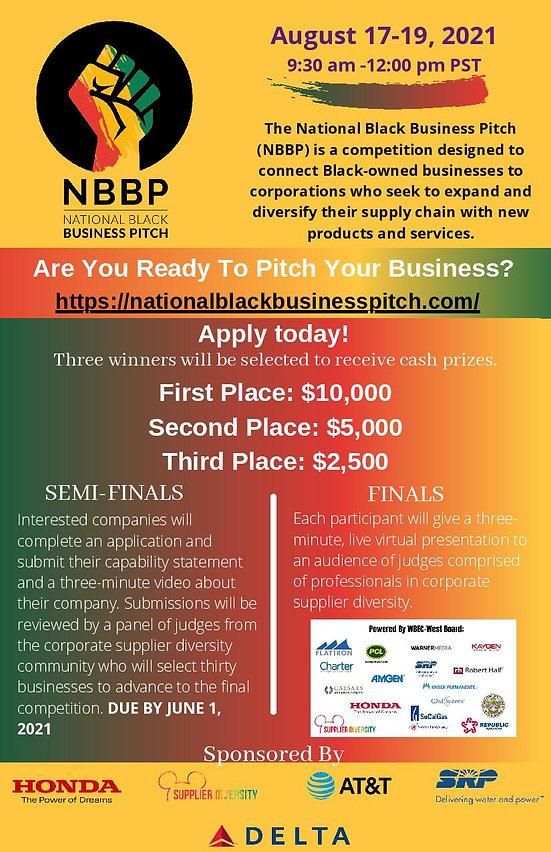 Black Business Pitch Flyer w details-pag